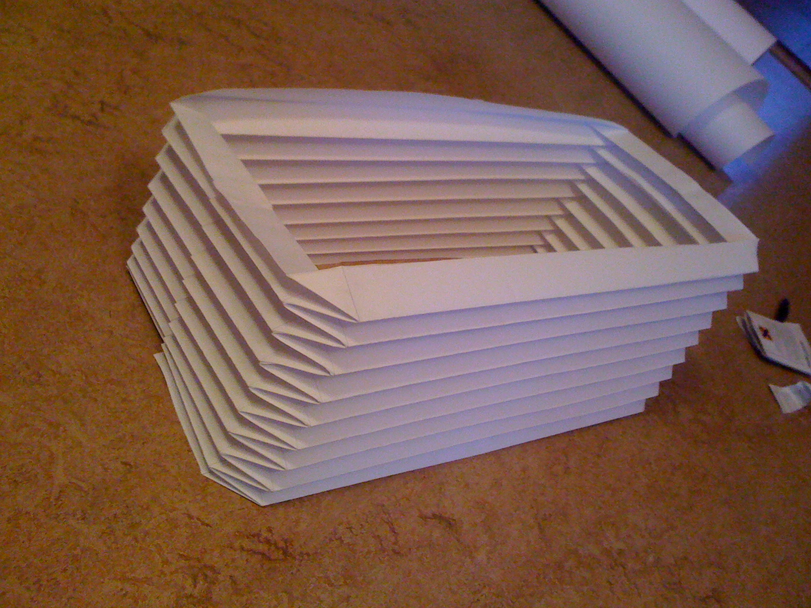 Paper bellow