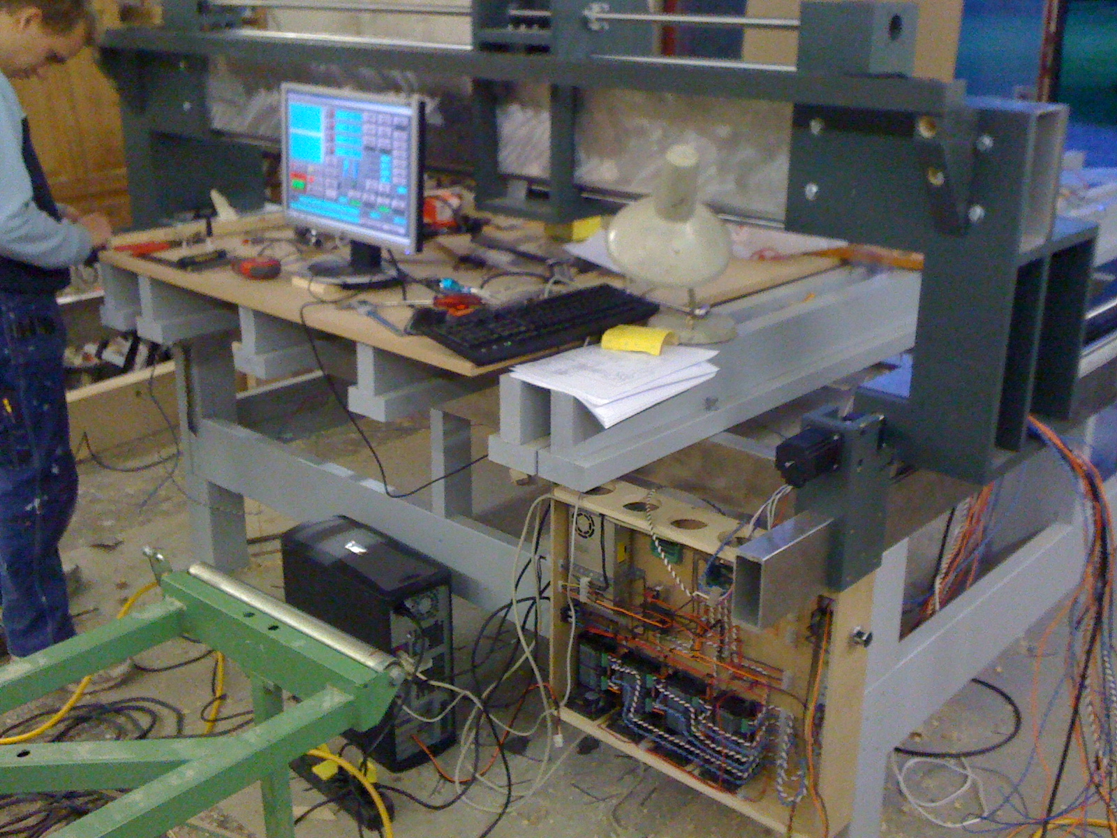 Testing operation with the Mach3 software