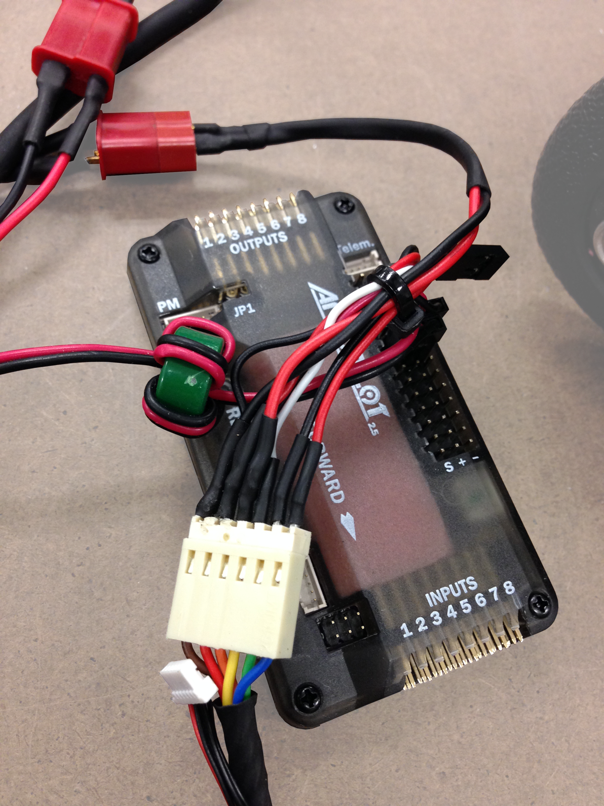 Chest mounted Arduino
