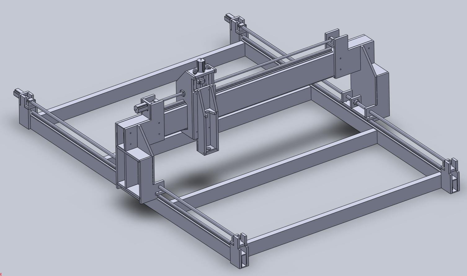 Initial CAD design